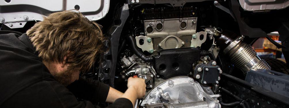 fassi påbyggnad motor